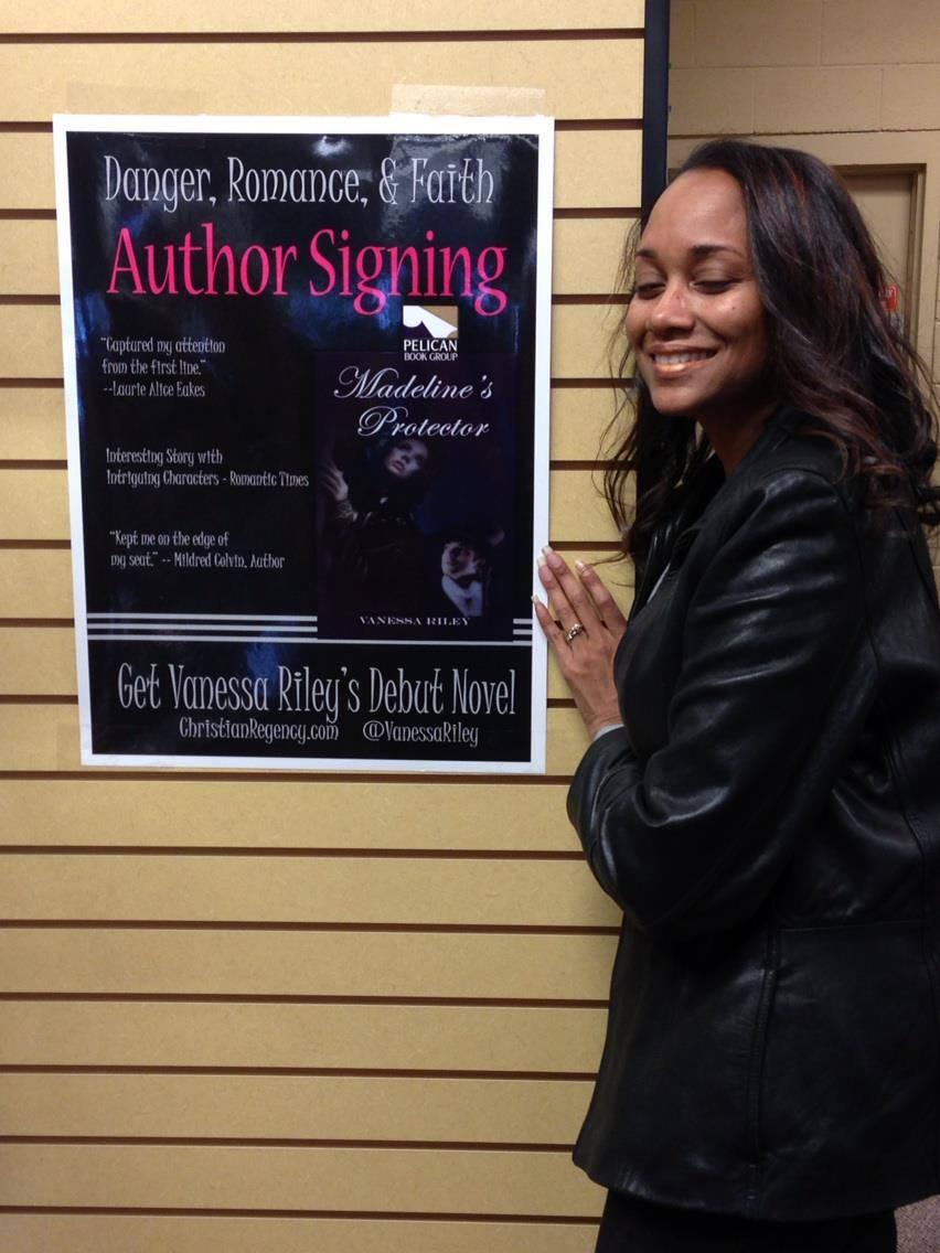 Vanessa Riley 1st Signing